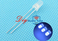 Custom Luminous Intensity Blue Light Emitting Diode , 5mm LED Diode For Indicator